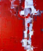 Oil On Canvas - Red - Oil On Canvas