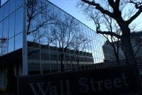 Architectural - Reflections On Wall Street - Sony A200 Dslr