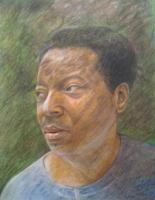 Portraits - Portrait - Realism Or Abstraction - Colored Pencil