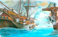 Water Art - Ships - Acrylic