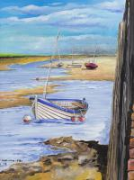 Wooden Craft - Gouach Paintings - By Malc Lane, Fine Art Painting Artist